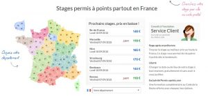 stage de récupération de points ile de france