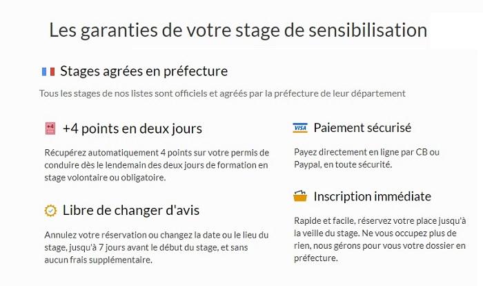 stage de récupération de points Grenoble