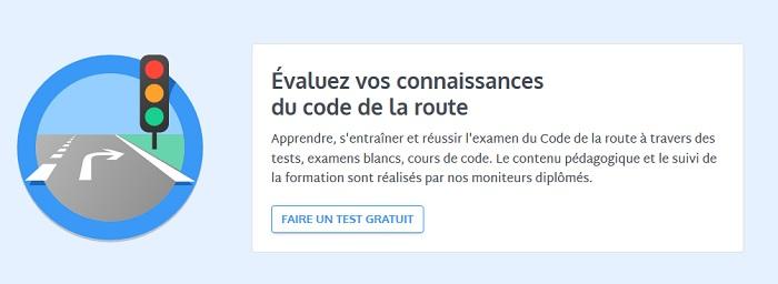 QCM avec correction code de la route
